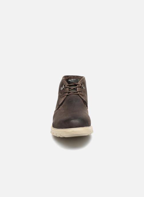 Bottines et boots Pepe jeans CLIVE SAND BOOT Marron vue portées chaussures