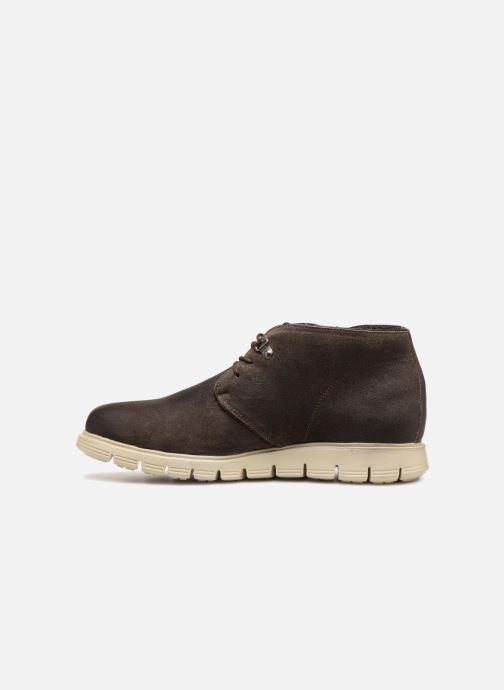 Boots en enkellaarsjes Pepe jeans CLIVE SAND BOOT Bruin voorkant