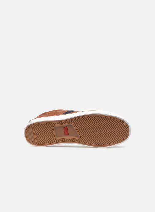 Sneaker Levi's Turner braun ansicht von oben