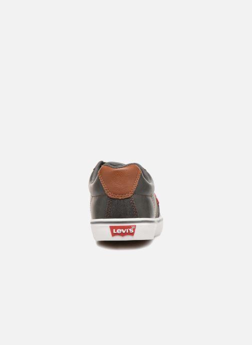 Sneaker Levi's Turner schwarz ansicht von rechts