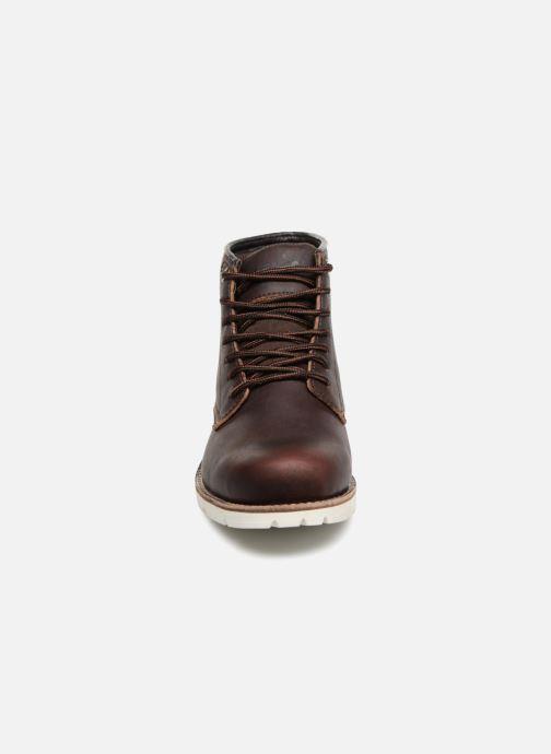 Bottines et boots Levi's Jax High Marron vue portées chaussures