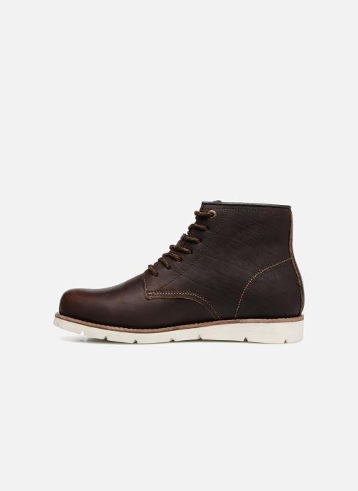 Boots en enkellaarsjes Levi's Jax High Bruin voorkant