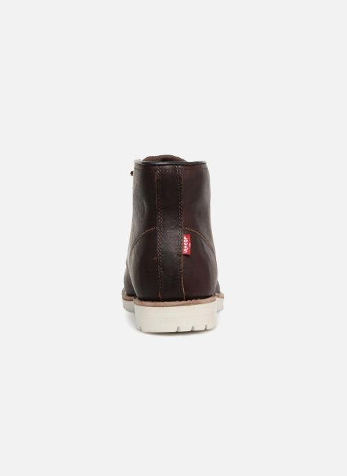 Bottines et boots Levi's Jax High Marron vue droite