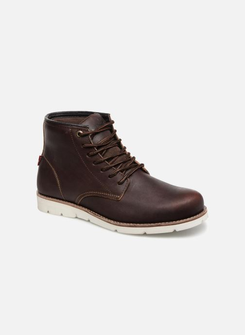 Bottines et boots Levi's Jax High Marron vue détail/paire
