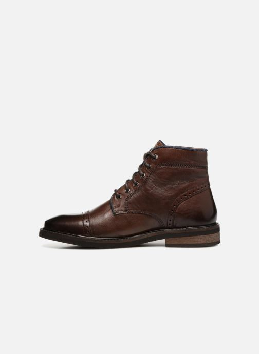 Boots en enkellaarsjes Levi's Wohlford Bruin voorkant