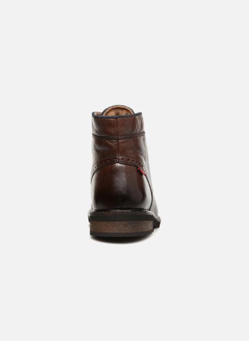 Boots en enkellaarsjes Levi's Wohlford Bruin rechts