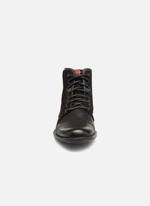 Stiefeletten & Boots Levi's Fowler schwarz schuhe getragen