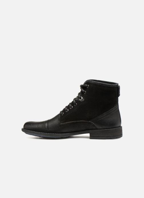 Stiefeletten & Boots Levi's Fowler schwarz ansicht von vorne