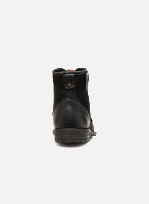 Stiefeletten & Boots Levi's Fowler schwarz ansicht von rechts