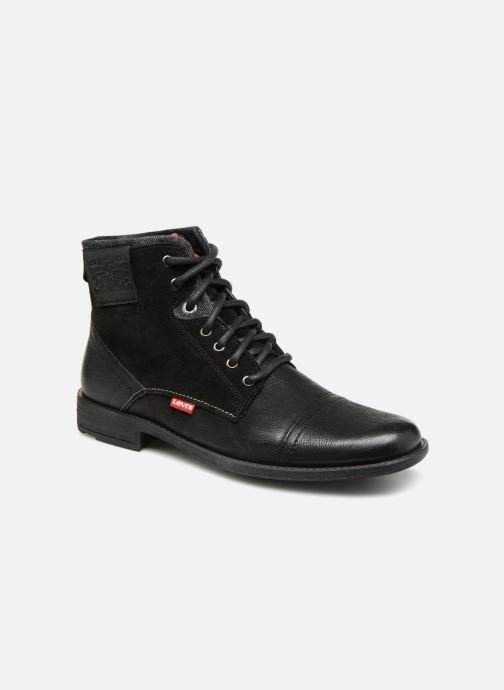 Stiefeletten & Boots Levi's Fowler schwarz detaillierte ansicht/modell