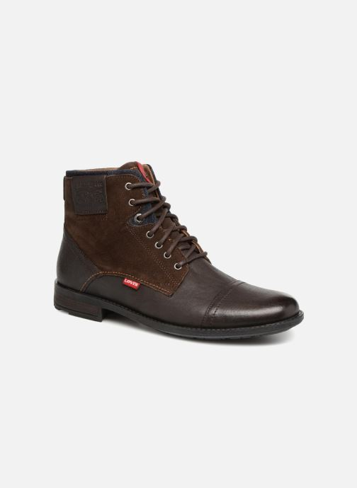 Ankelstøvler Levi's Fowler Brun detaljeret billede af skoene