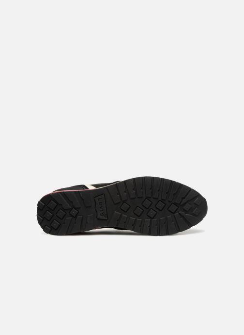 Sneaker Levi's Ny Runner 2.0 schwarz ansicht von oben