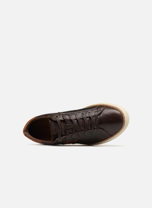 Sneaker Levi's Baker braun ansicht von links