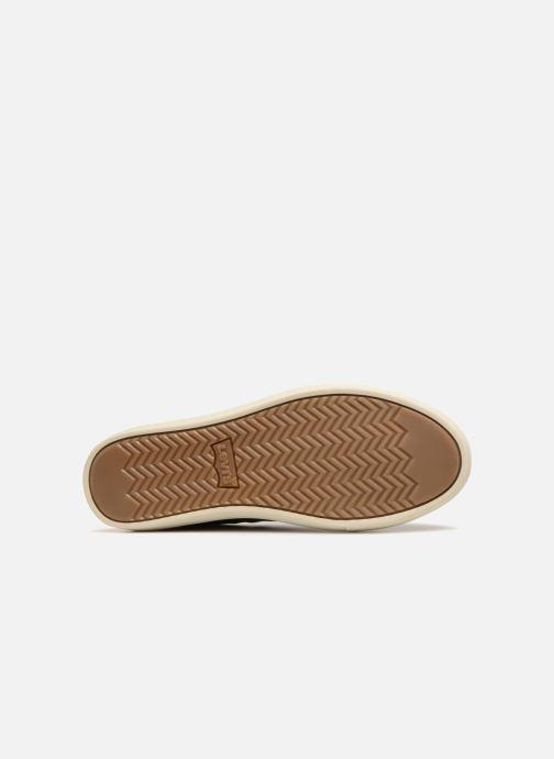Sneaker Levi's Baker braun ansicht von oben
