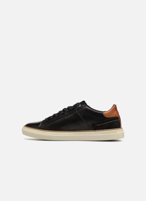 Sneaker Levi's Baker schwarz ansicht von vorne
