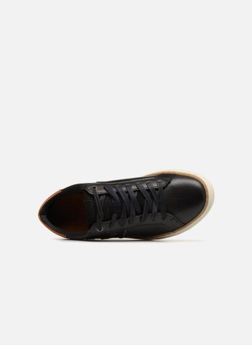 Sneaker Levi's Baker schwarz ansicht von links