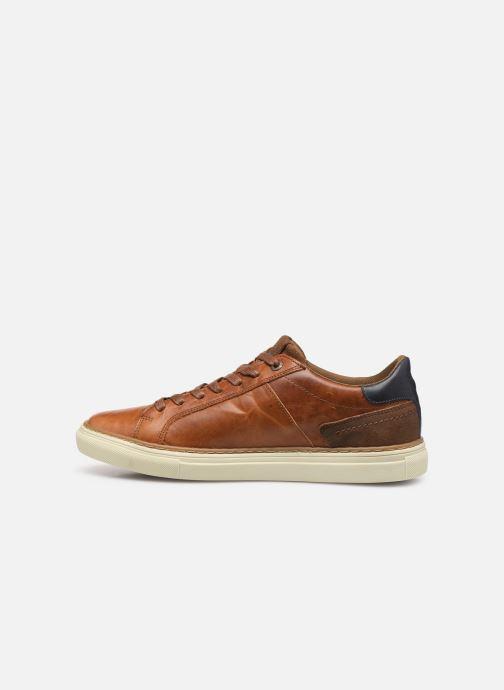Sneakers Levi's Baker Bruin voorkant