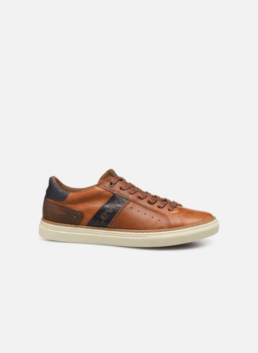 Sneakers Levi's Baker Bruin achterkant