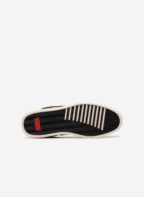 Baskets Levi's Tulare Noir vue haut