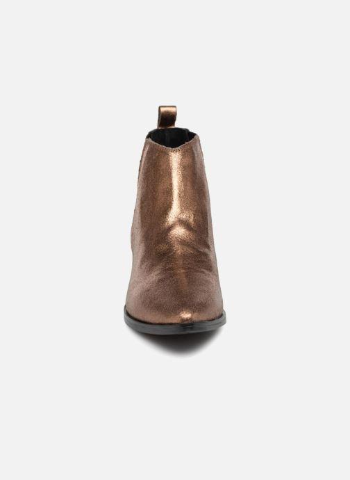 Bottines et boots Levi's Gaia Or et bronze vue portées chaussures