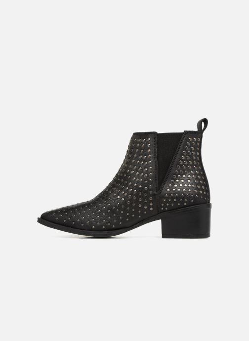 Boots en enkellaarsjes Levi's Gaia Zwart voorkant