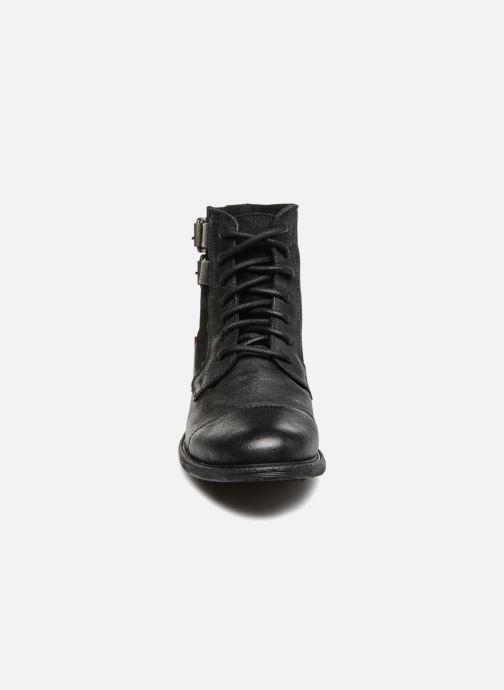 Bottines et boots Levi's Maine W Noir vue portées chaussures