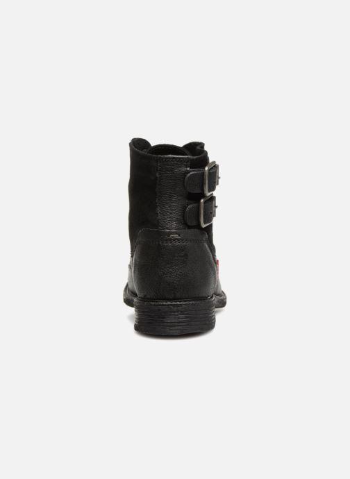 Bottines et boots Levi's Maine W Noir vue droite