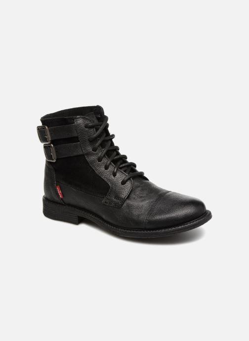 Bottines et boots Levi's Maine W Noir vue détail/paire