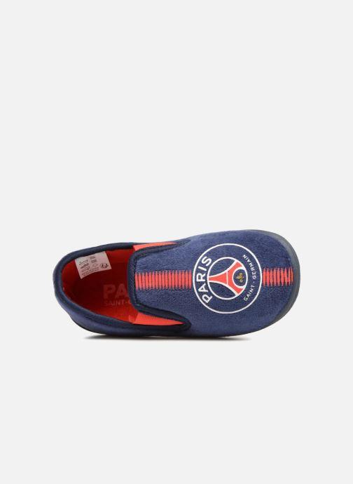 Pantoffels PSG Goal Blauw links