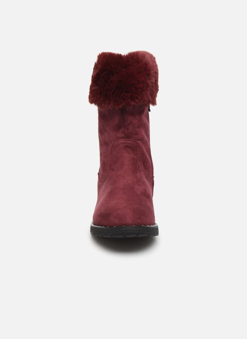 Bottines et boots Xti 55876 Bordeaux vue portées chaussures