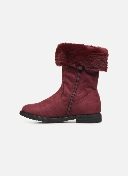Ankle boots Xti 55876 Burgundy front view