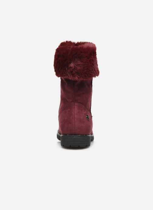 Ankle boots Xti 55876 Burgundy view from the right