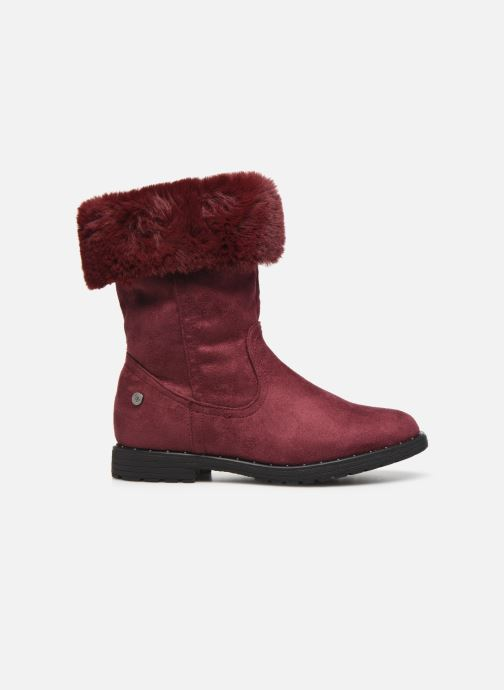Ankle boots Xti 55876 Burgundy back view