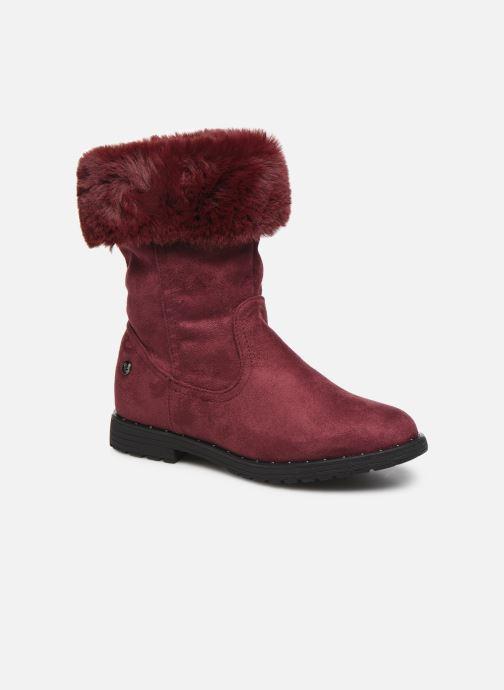 Bottines et boots Xti 55876 Bordeaux vue détail/paire