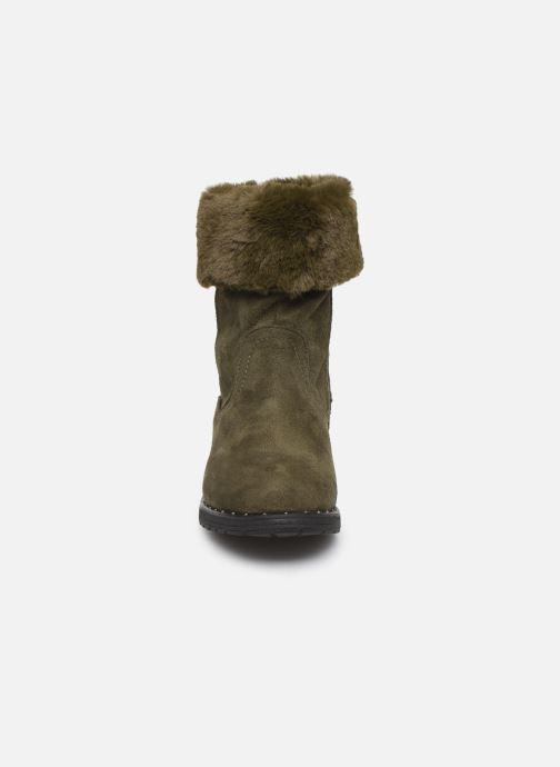 Bottines et boots Xti 55876 Vert vue portées chaussures