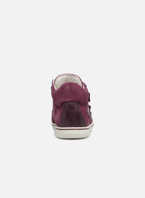 Trainers PEPINO Sia-tex Purple view from the right