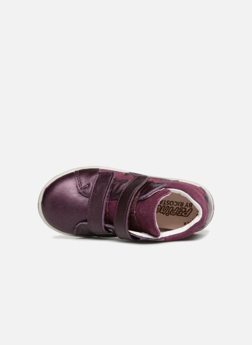 Trainers PEPINO Sia-tex Purple view from the left