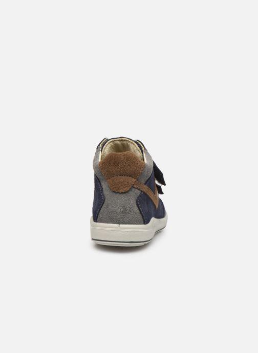 Sneaker Pepino Kimo-tex blau ansicht von rechts