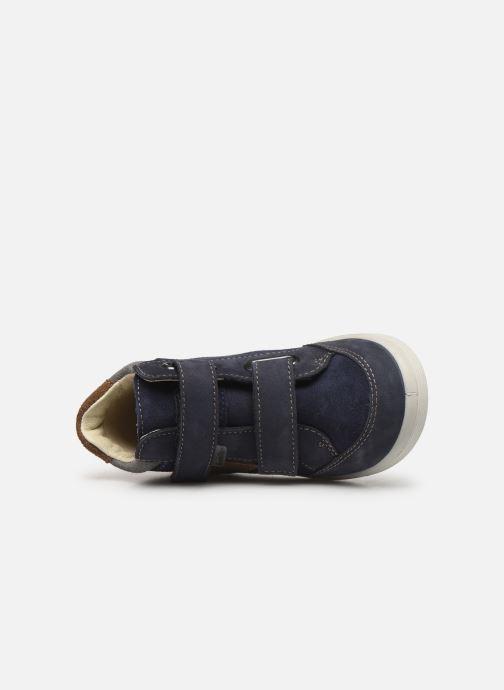 Sneaker Pepino Kimo-tex blau ansicht von links
