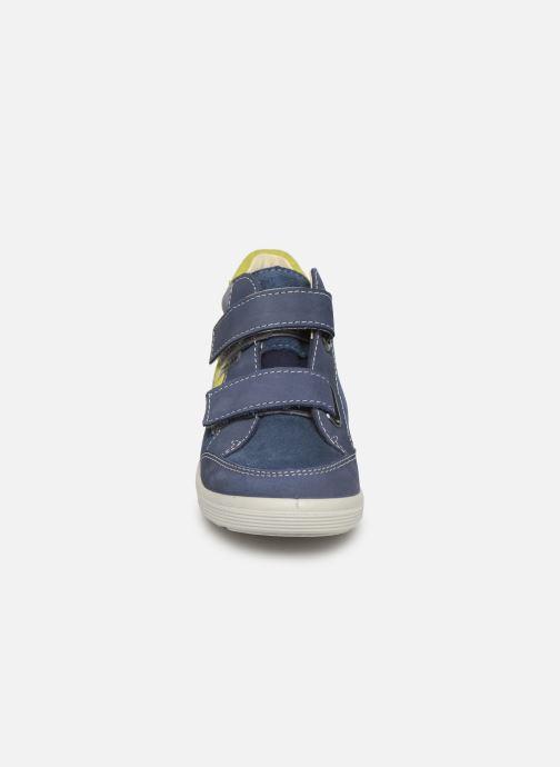 Sneakers PEPINO Kimo-tex Azzurro modello indossato