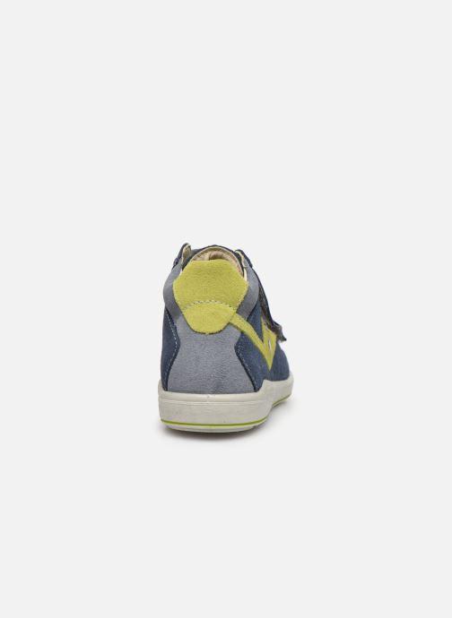 Baskets PEPINO Kimo-tex Bleu vue droite