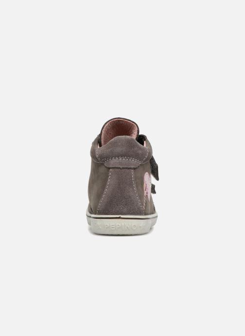 Sneaker Pepino Lara-tex grau ansicht von rechts