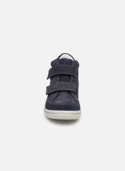 Baskets PEPINO Lara-tex Bleu vue portées chaussures
