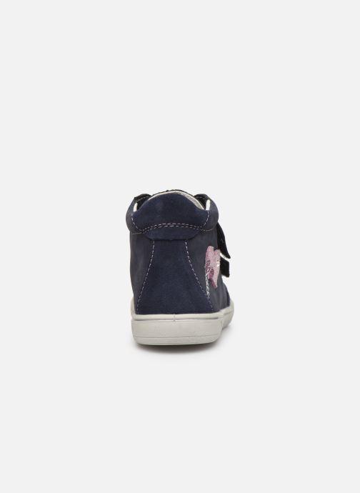 Sneaker Pepino Lara-tex blau ansicht von rechts
