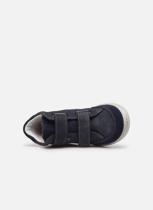 Sneaker Pepino Lara-tex blau ansicht von links