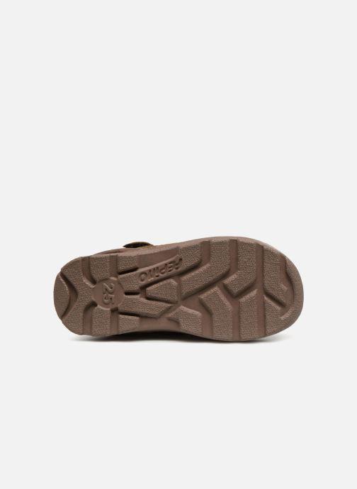 Chaussures de sport Pepino Jim-tex Marron vue haut