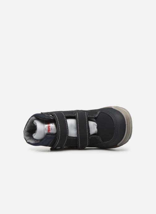 Zapatillas de deporte Pepino Bixi-tex Azul vista lateral izquierda