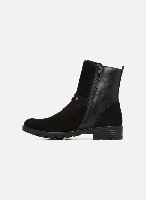 Boots & wellies Ricosta Riva-tex Black front view