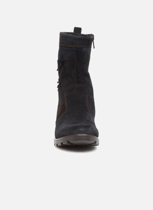Bottes Ricosta Steffi-tex Bleu vue portées chaussures