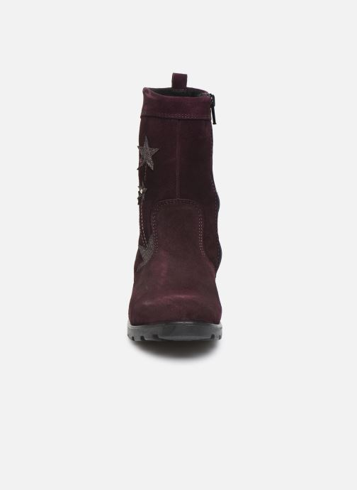 Bottes Ricosta Steffi-tex Violet vue portées chaussures